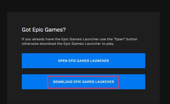 Epic Games Launcher not Working on Windows and Mac