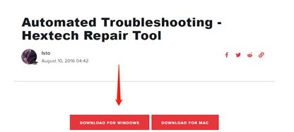 hextech repair tool download