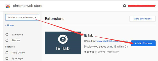 add ie tab to chrome extension
