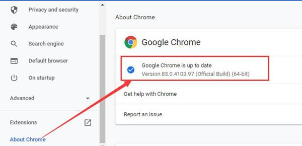 check google chrome version