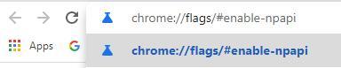 chrome flags enable npapi chrome