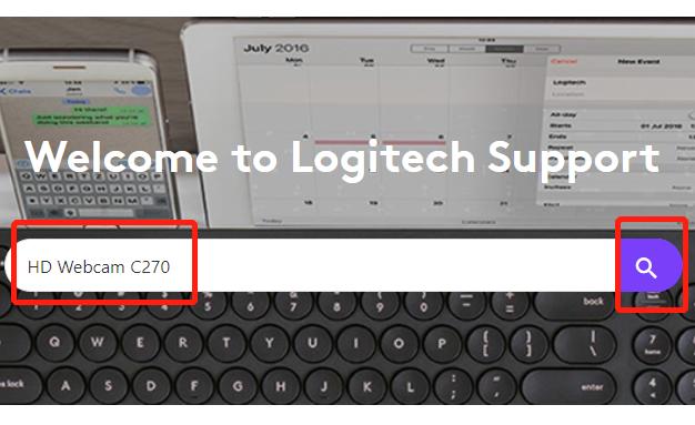 logitech c270 search