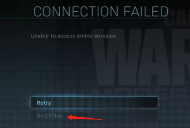 modern warfare go offline