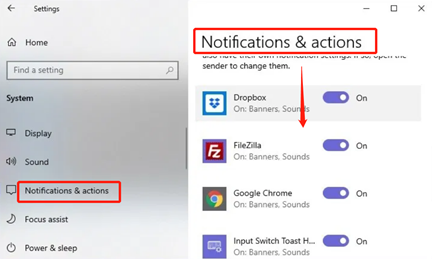 turn off logitech download assistant notification