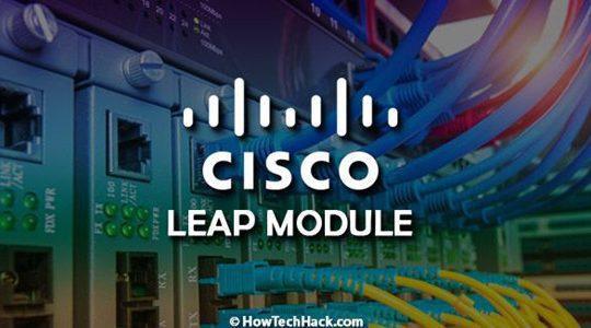 cisco eap fast moduel