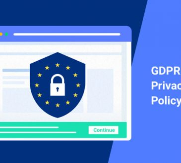gdpr privacy policy wordpress
