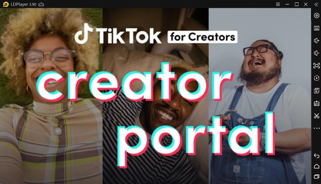 tiktok creator portal