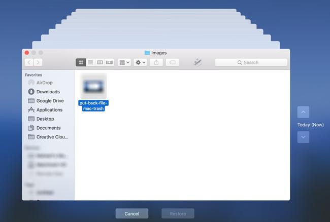 easeus put files back