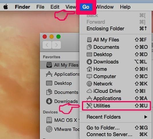 mac utilities item