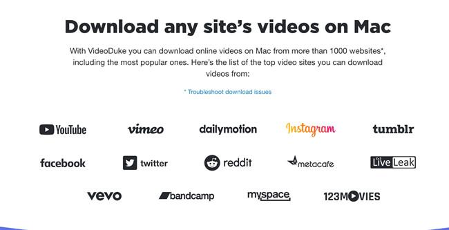videoduke support websites