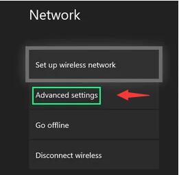 advanced settings in xbox one