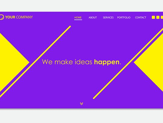 better landing page