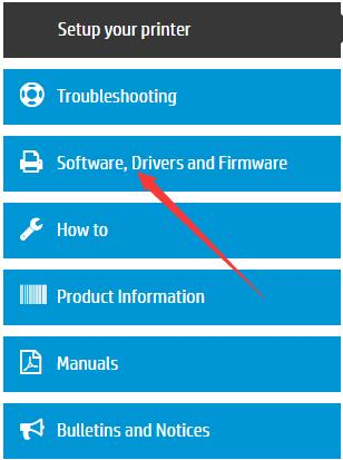 hp software drivers and firmware