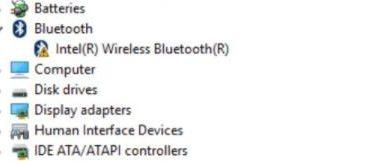 intel bluetooth driver download