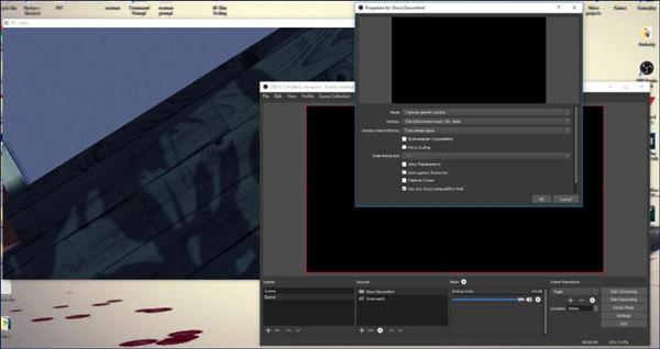 obs game capture black screen