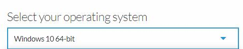select your operating system on presonus website