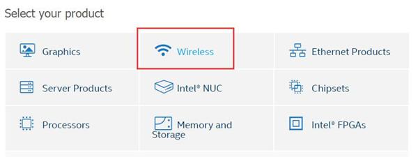 wireless in intel official website