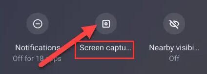 screen capture in chromebook