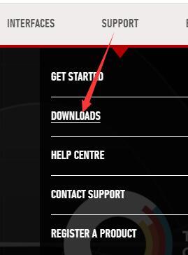 support downloadss on focusrite official website
